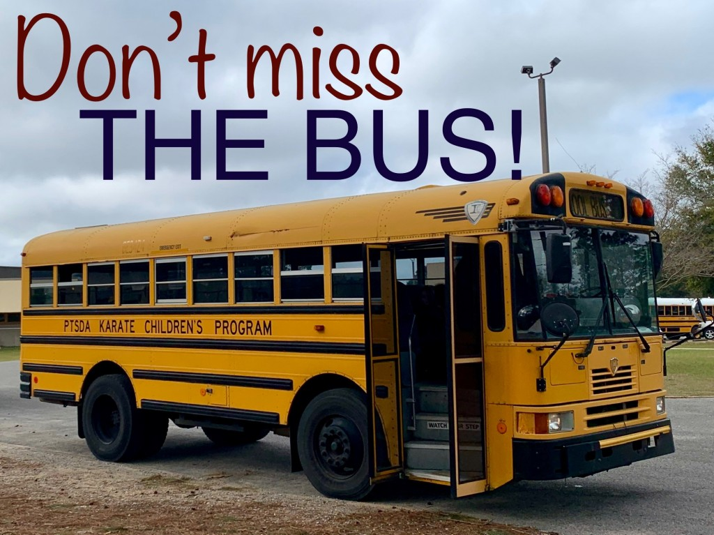 Don't miss the bus!