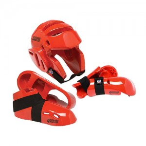 lightning-sparring-gear-set-red